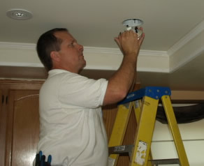 agoura hills electrician recessed lighting installation